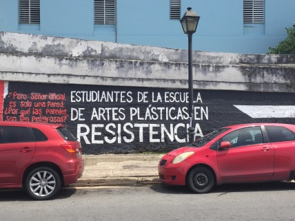 Arte urbano en el Viejo San Juan