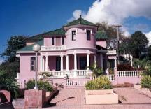Castillo Villa del Mar como lucía antes (foto de archivo)