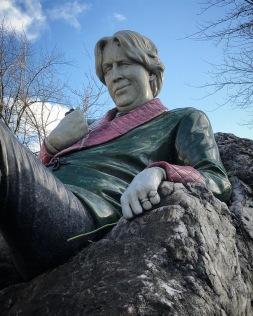 Oscar Wilde, nacido en Dublín 16 de octubre de 1854