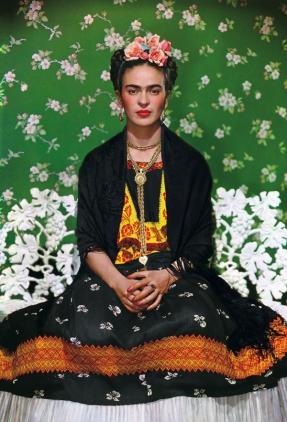 Una de las fotografías más famosas de Frida, de Nickolas Murray, 1946, impresa en el 2006