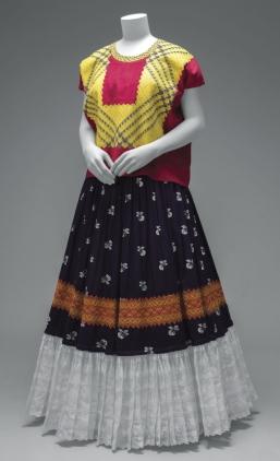 Sus vestidos de tehuana