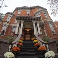 Algunas de las famosas casas de Savannah