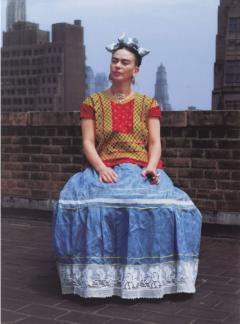 Frida en NY, fotografía de Nickolas Murray