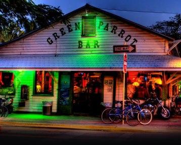 Green Parrot, uno de los bares más antiguo de Key West
