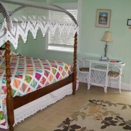 Una de las habitaciones, foto cortesía del hotel