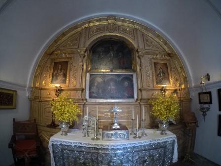 Altar, Capilla del Cristo
